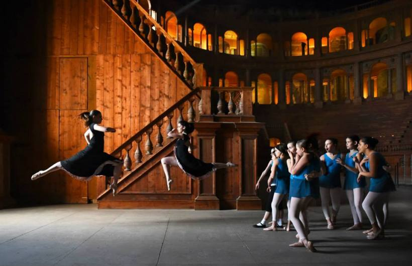 per Parma Danza organizzata dal Teatro Regio foto di Roberto Ricci